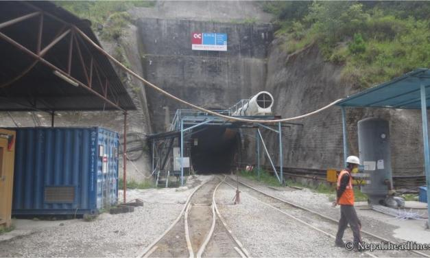 Water pipe laying for Melamchi project picking up pace