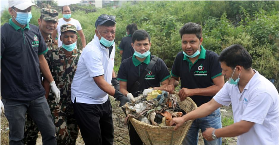 35 metric tonnes of garbage managed from valley