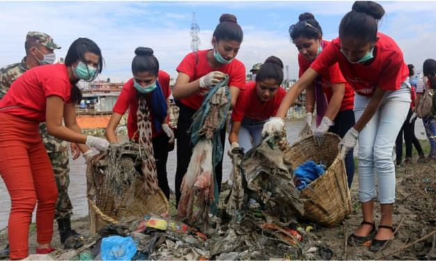 42 metrics tonnes of garbage managed from major rivers in Valley