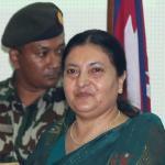Prez Bhandari approves army mobilization in election