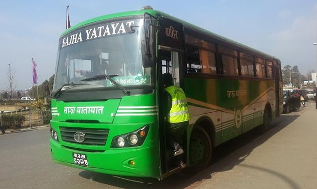 Sajha Yatayat not to operate bus election day