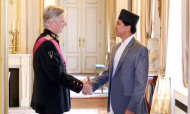 Nepal's ambassador to Belgium presents credentials