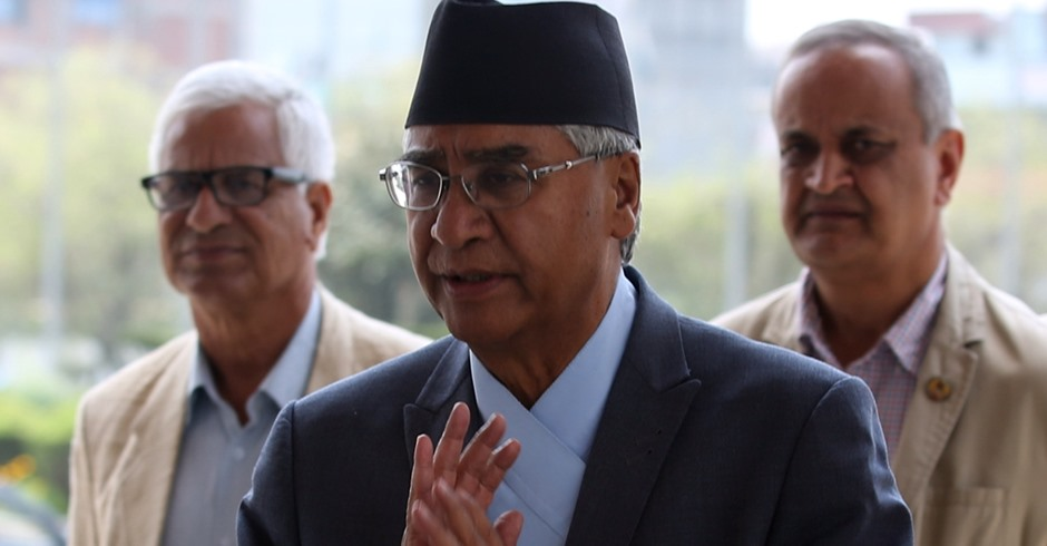 NC's victory must to implement constitution: Deuba