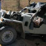 टाटासुमो दुर्घटना हुँदा दुई जनाको मृत्यु