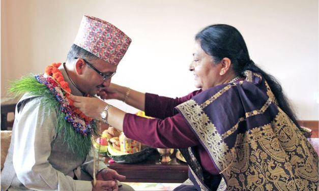 President offers Bhaitika