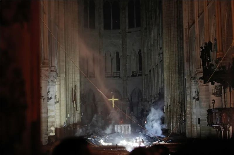 Notre Dame Cathedral fire 4552836