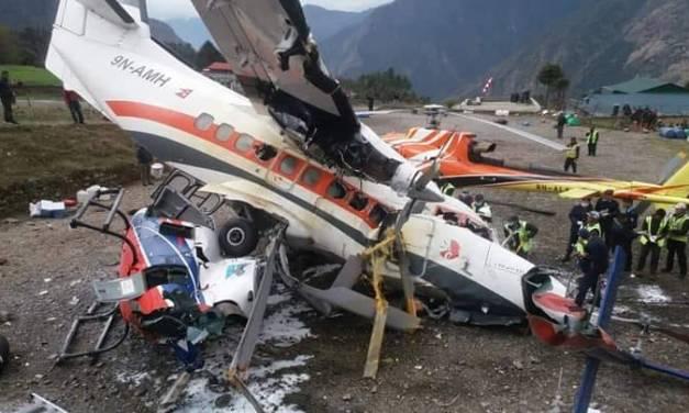 Lukla Airplane crash: Two dead, one injured