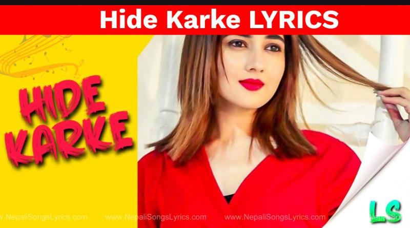 hide karke lyrics - Lakhi Natt - Punjabi song lyrics