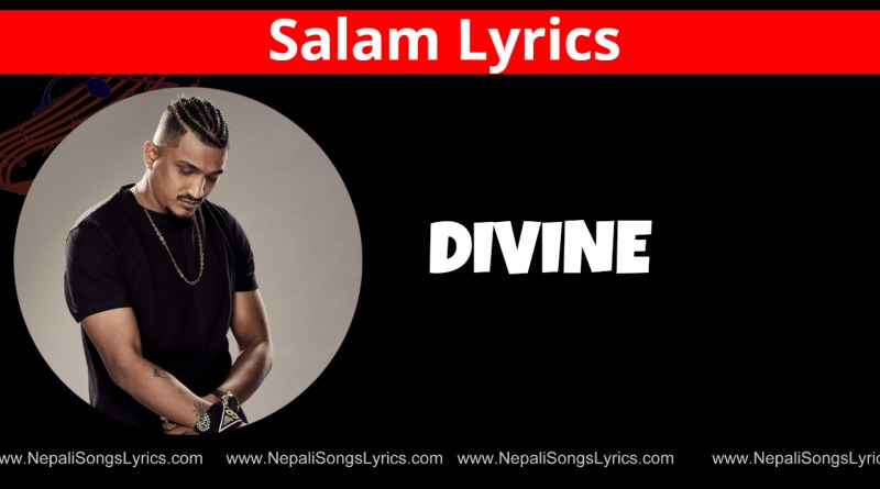 salam lyrics - Divine
