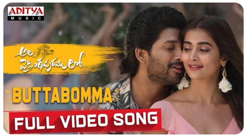 ButtaBomma lyrics - Armaan Malik