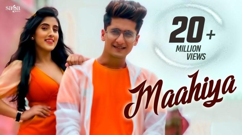 Maahiya lyrics - Bhavin Bhanushali, Sameeksha Sud