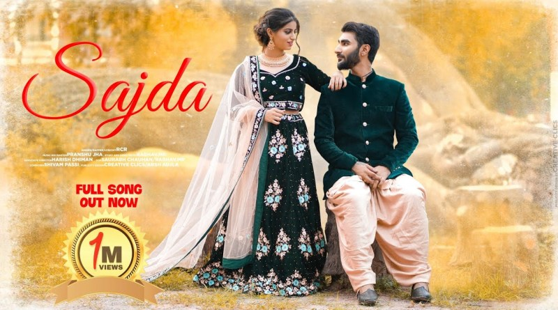 Sajda Lyrics - RcR Ft.Saniya khera