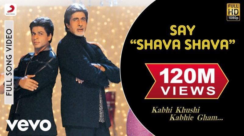 Say Shava Shava Lyrics - Udit Narayan, Alka Yagnik, Sudesh Bhosle