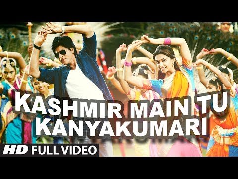 Kashmir Main Tu Kanyakumari Lyrics - Sunidhi Chauhan, Arijit Singh, Neeti Mohan