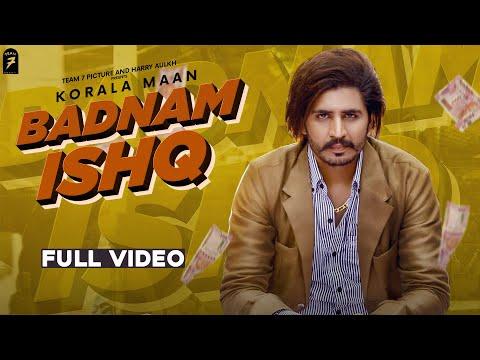 Badnam Ishq Lyrics - Korala Maan