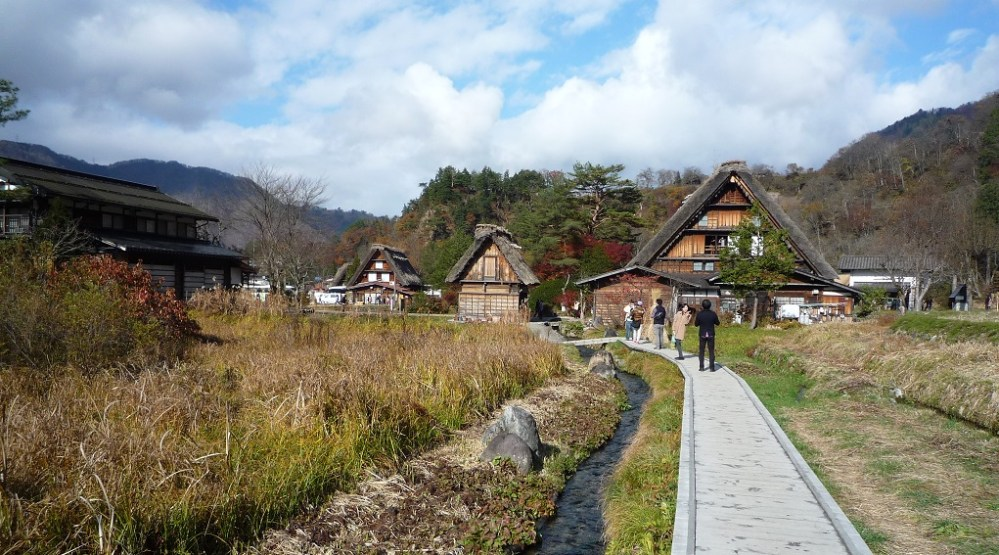 Japan Sirakawa Village-World Heritage