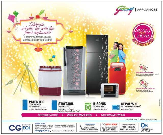 Godrej Appliances festive offer