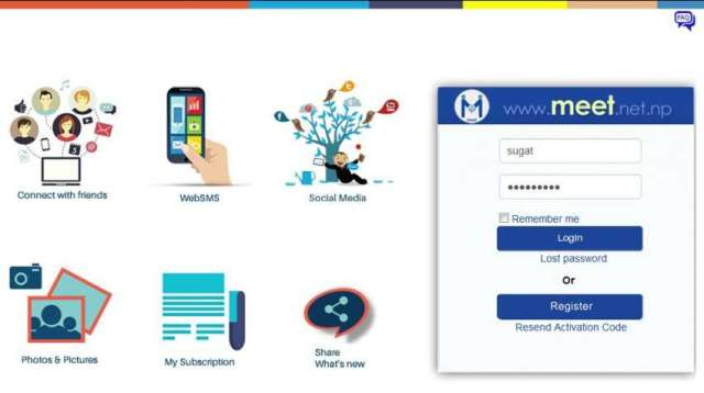 NTC launches new social networking site 'Meet'