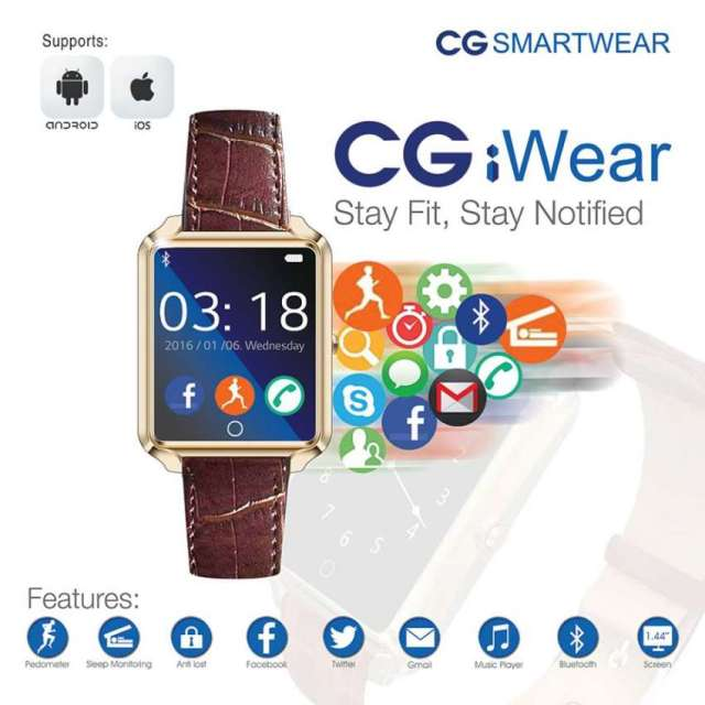 First wearable device by CG at just NRs. 4,444