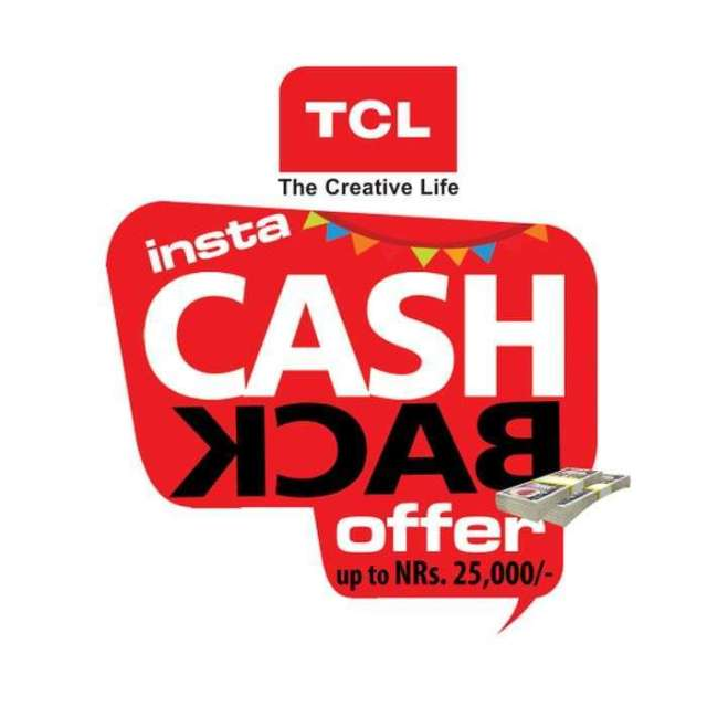 TCL's Cash Back Offer