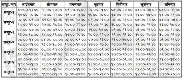 New Loadshedding Schedule (Latest Loadshedding Schedule )