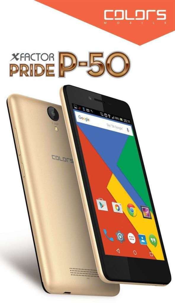 Colors P50 launched