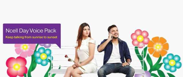 Ncell launches 'Day Voice Pack'; 30 minutes talk time for Rs 8