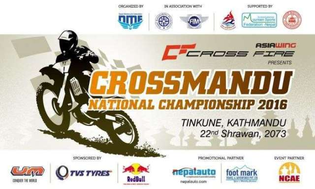 Crossmandu National Championship on 6 August at Tinkune