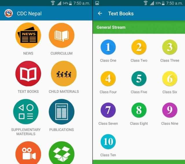 CDC (Curriculum Development Center) Nepal app – instructional materials for school education