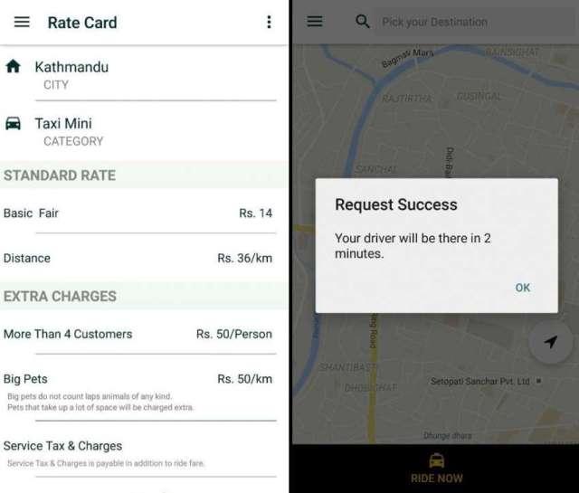 Kawa Rides – taxi hailing app