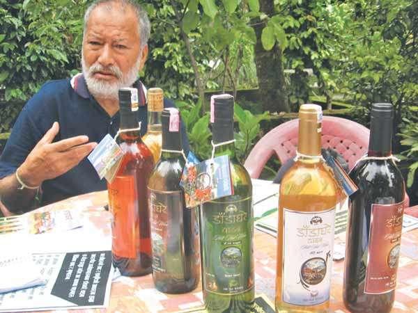 Dadaghare Wine Arrives Kathmandu