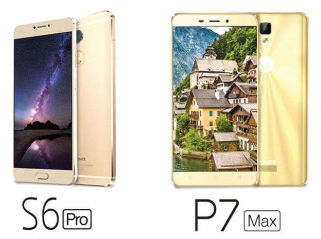 Gionee S6 Pro and P7 Max in the market