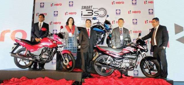 Hero Launches 3 New Motorcycles