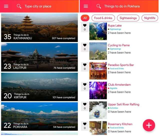 Thingsle – find holiday destination, weekend getways, vacation ideas