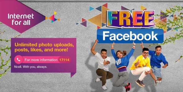 Ncell launches 'Facebook Free' offer under its 'Internet for All' theme