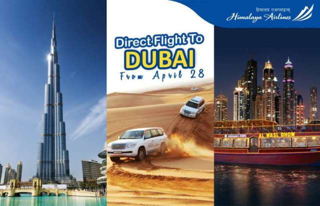 Himalaya Airlines Launches Dubai Flights