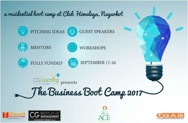 Application Call for Fully Funded The Business Boot Camp 2017
