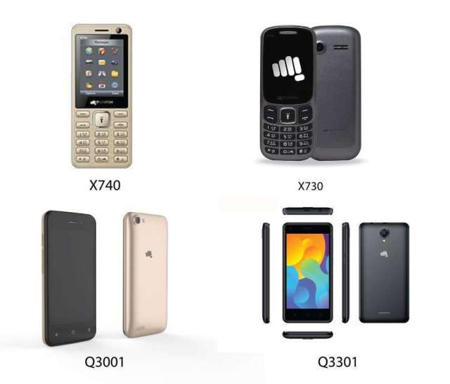 Micromax Introduces Four New Models in Nepal