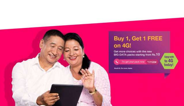 Ncell unveils new data packs with affordable rates, bundles 4G data as bonus