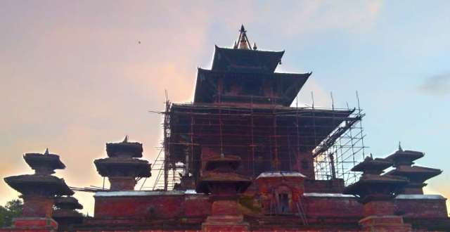 Taleju temple is one of the most magnificent temple of Kathmandu valley. It is briefly open during the Dasain festival.