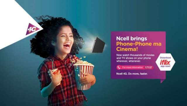 Ncell and iflix partner to give subscribers unlimited data and access to iflix