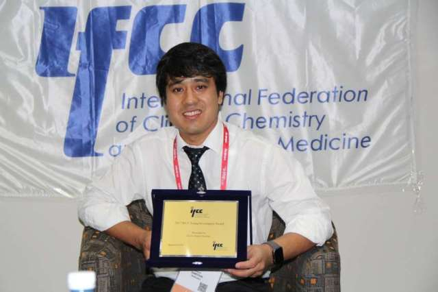 Young Nepalese scientist Dr. Rojit Shrestha wins int'l award