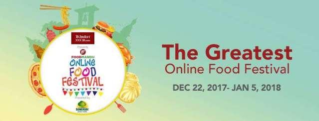 Foodmandu brings you Online food Festival
