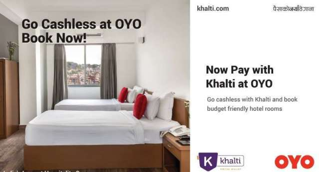 Khalti partners with OYO