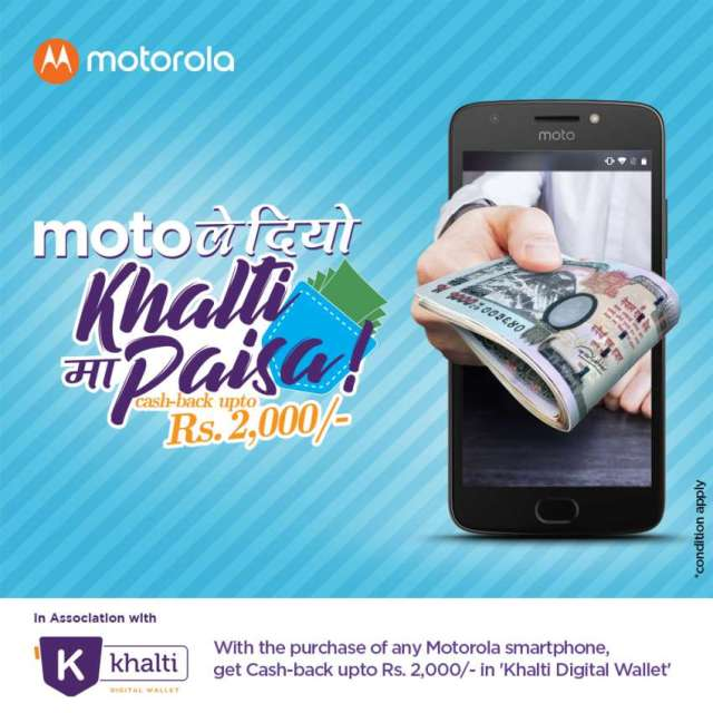 Motorola Nepal and Khalti announce partnership