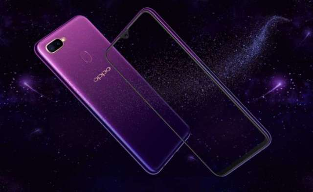 OPPO F9 Launches Starry Purple