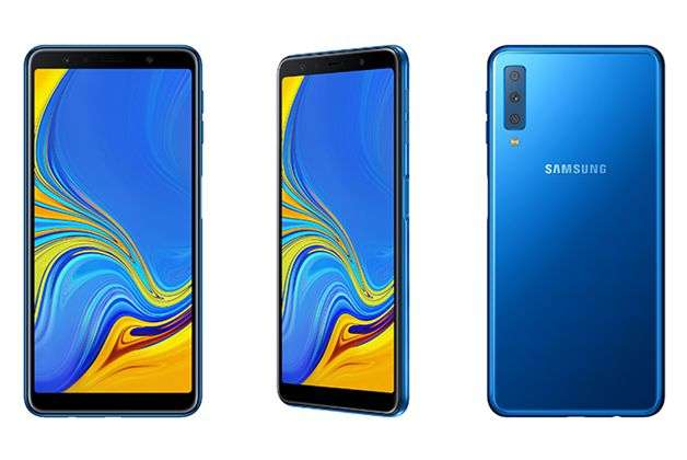 Galaxy A7 now availed in Blue color