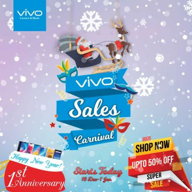 Vivo Sales Carnival is live