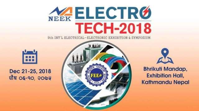 NEEK Electro-Tech 2018 from December 21