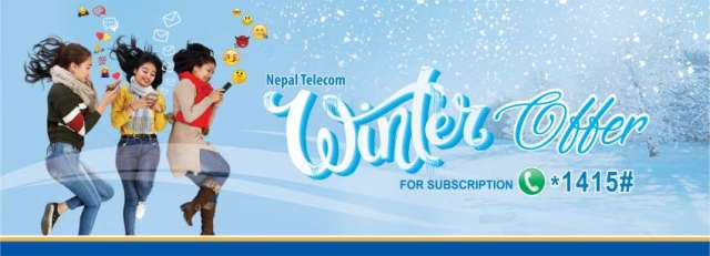 Nepal Telecom (NT) brings Winter offer 2075